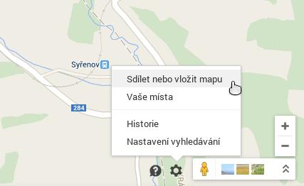 google-maps-iframe-menu